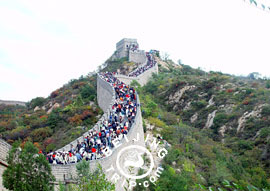 Great Wall at Badaling in Beijing