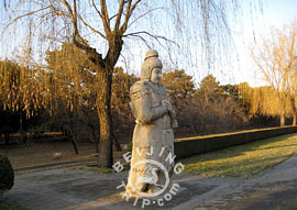 A Stone Statue leading to Ming Tombs, Beijing