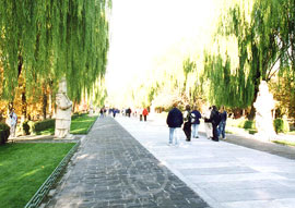 7-kilometer-long Sacred Way, Beijing