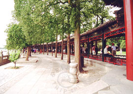 Long Corridor, Summer Palace in Beijing