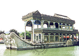 Marble Boat, Summer Palace in Beijing